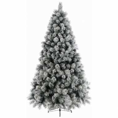 Besneeuwde kunst kerstboom 120 cm kunstbomen