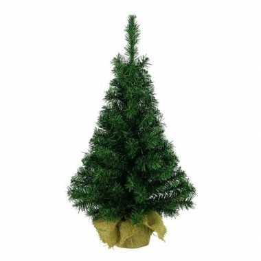 Kantoor/bureau kerstboom 75 cm