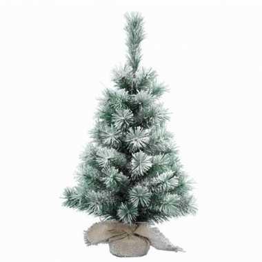 Kantoor kerstboom sneeuw 45 cm