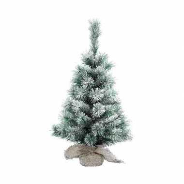 Kantoor kerstboom sneeuw 60 cm