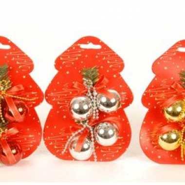 Kerstboom decoratie balletjes