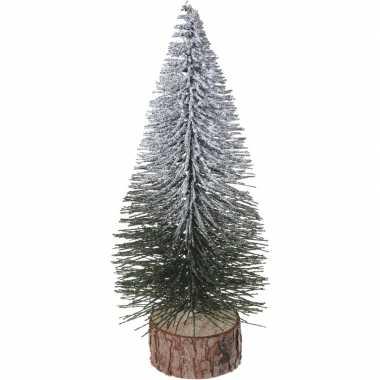 Mini kunst kerstboom 25 cm